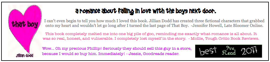 That Boy by Jillian Dodd is now $2.99!