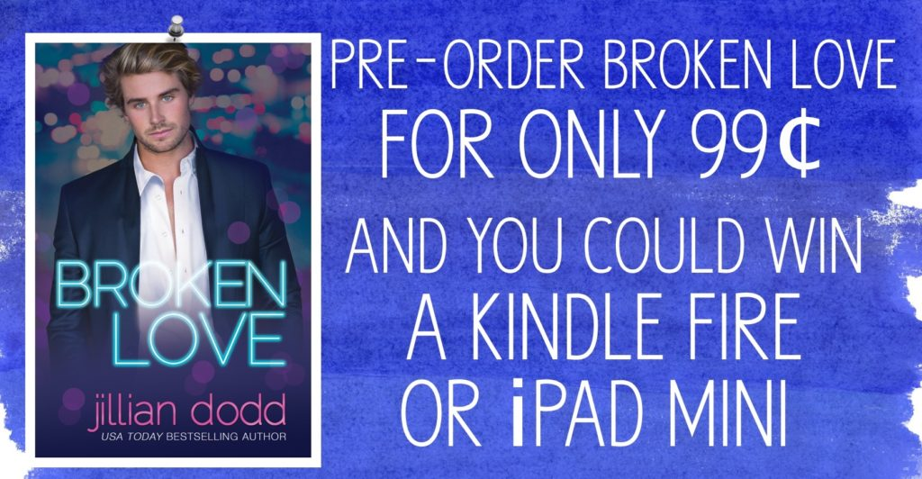 Broken Love Preorder Contest http://jilliandodd.net/broken-love-contest